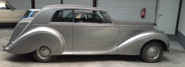 Oldtimer Care & Sales Bentley MK IV